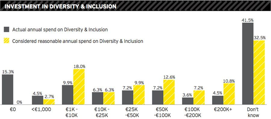 Investment in diversity & inclusion