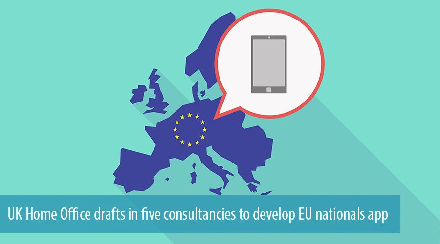UK Home Office drafts in five consultancies to develop EU nationals app