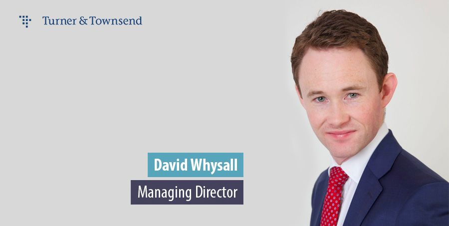 David Whysall, Managing Director for UK Infrastructure, Turner & Townsend