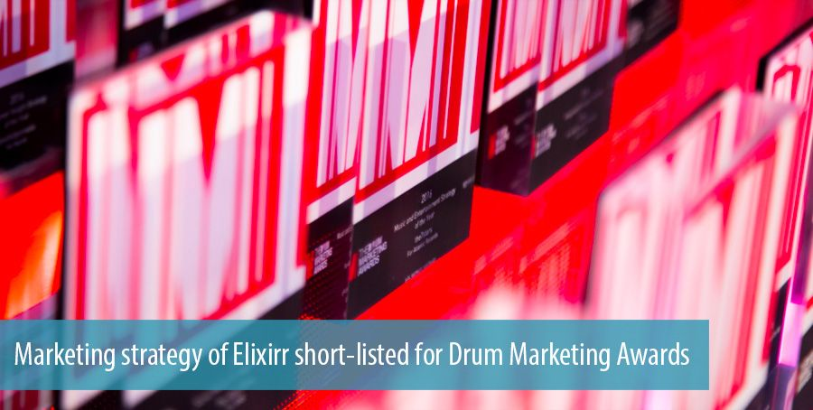 Marketing strategy of Elixirr short-listed for Drum Marketing Awards