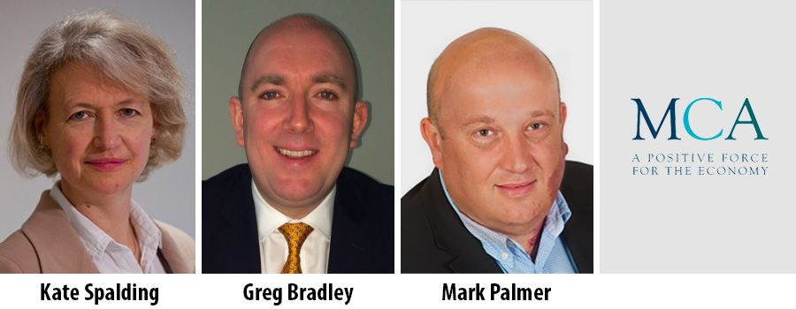 Kate Spalding, Greg Bradley and Mark Palmer join Board of MCA