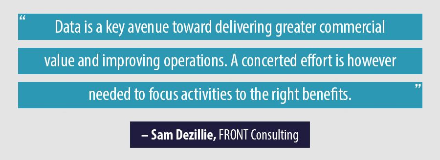 Quote Sam Dezillie, FRONT Consulting