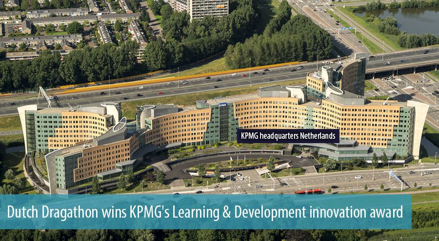 Dutch Dragathon wins KPMG's Learning & Development innovation award