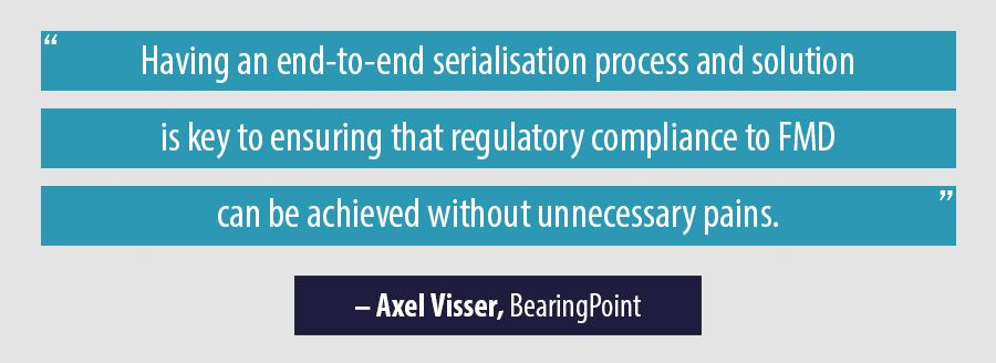 Quote Axel Visser, BearingPoint