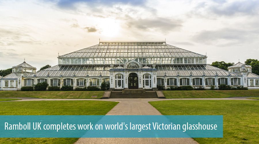 Ramboll UK completes work on world's largest Victorian glasshouse