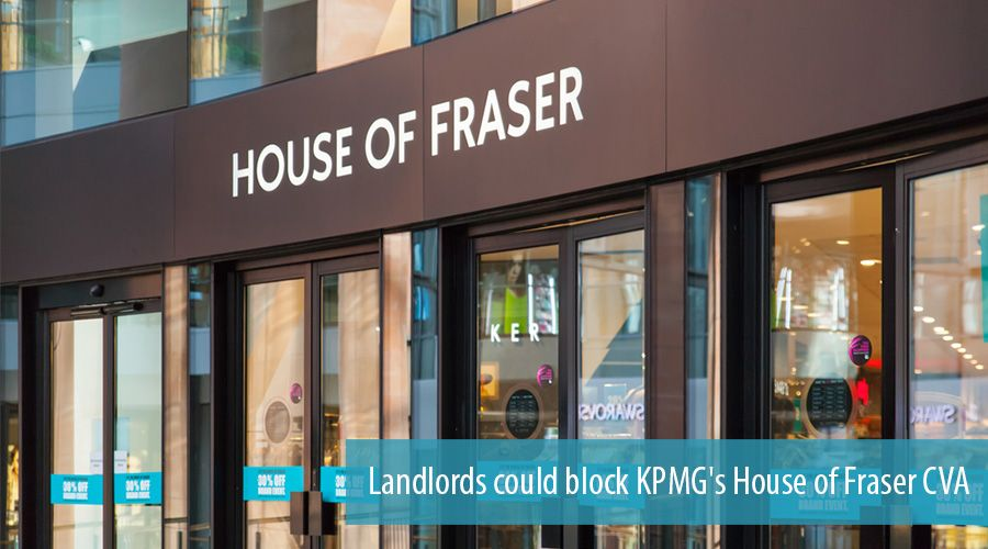 Landlords could block KPMG's House of Fraser CVA