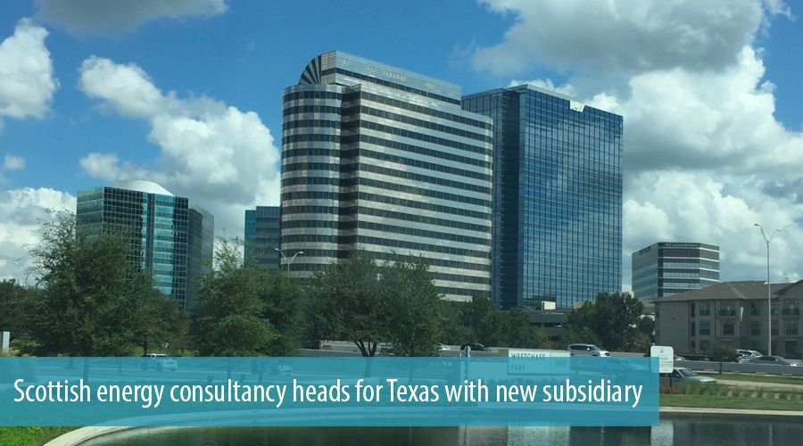 Scottish energy consultancy heads for Texas with new subsidiary