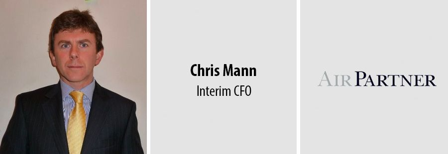 Chris Mann, Interim CFO - Air Partner