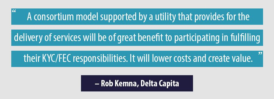Quote Rob Kemna, Delta Capita