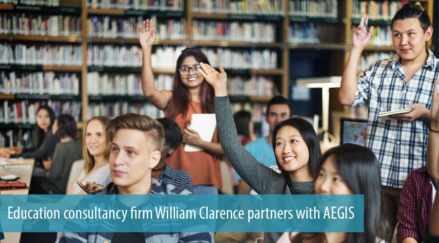 Education consultancy firm William Clarence partners with AEGIS