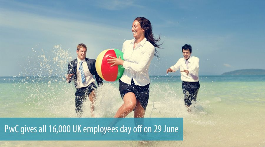 PwC gives all 16,000 UK employees day off on 29 June
