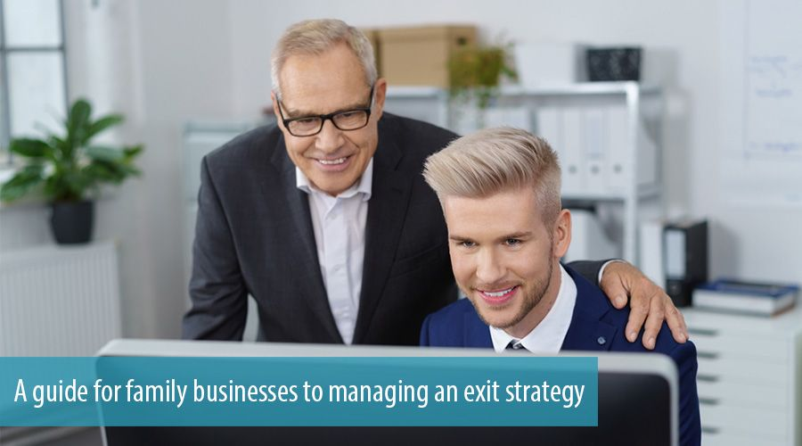 A guide for family businesses to managing an exit strategy
