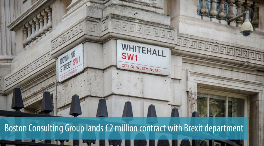 Boston Consulting Group lands £2 million contract with Brexit