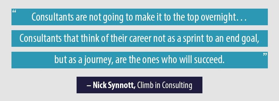 Quote Nick Synnott, Climb In Consulting