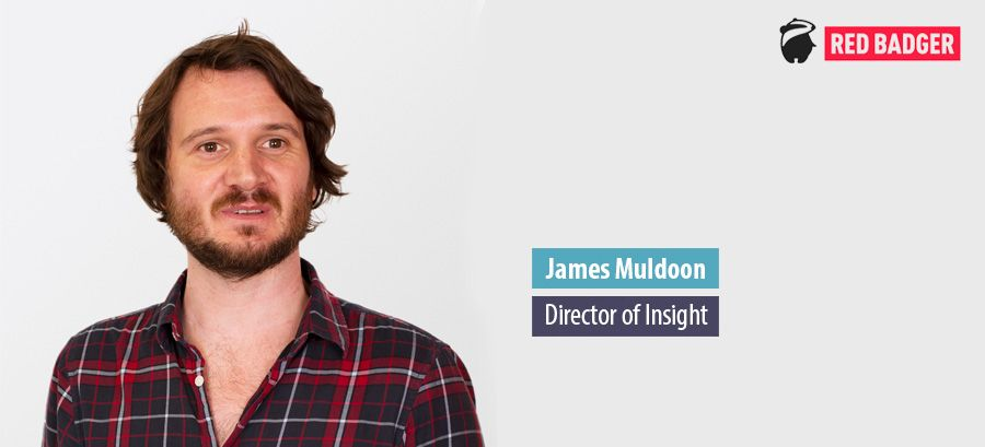 James Muldoon, Director of Insight - Red Badger