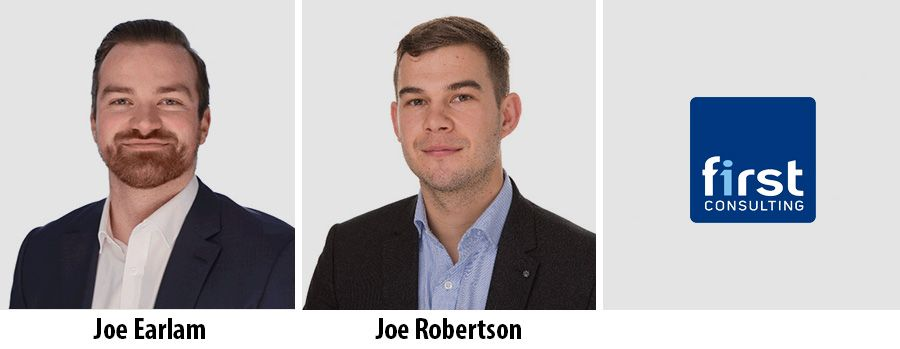 Joe Earlam and Joe Robertson - First Consulting