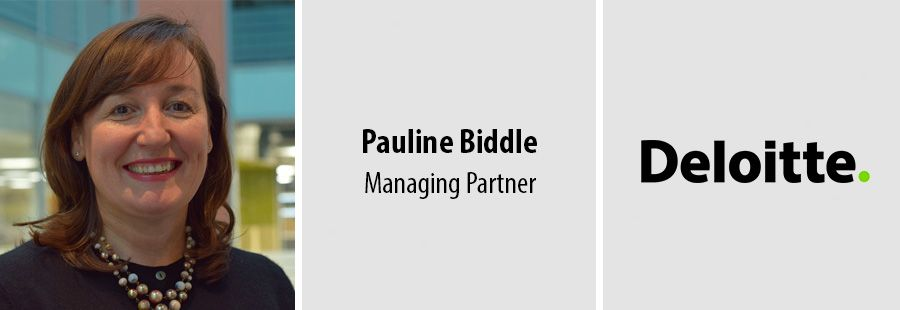 Pauline Biddle, Managing Partner - Deloitte