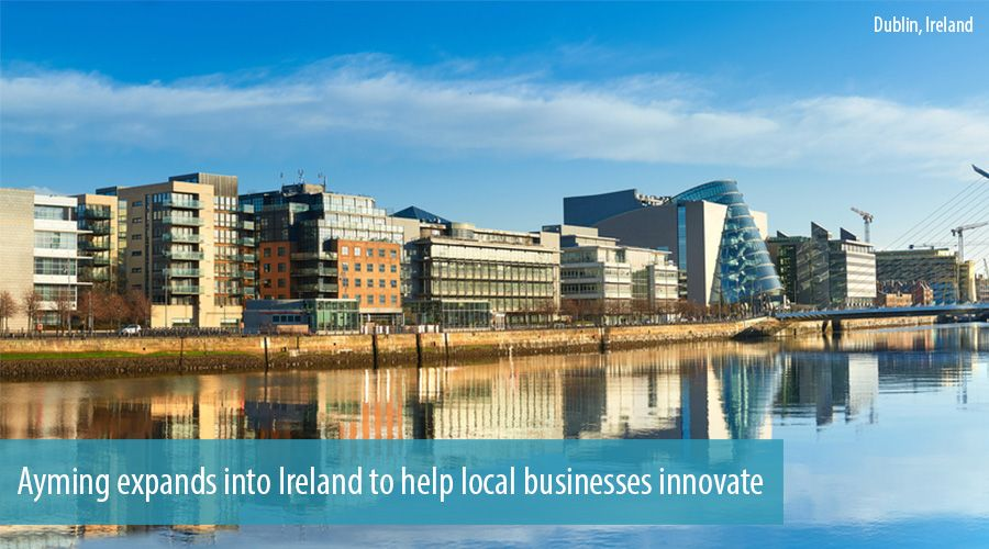 Ayming expands into Ireland to help local businesses innovate