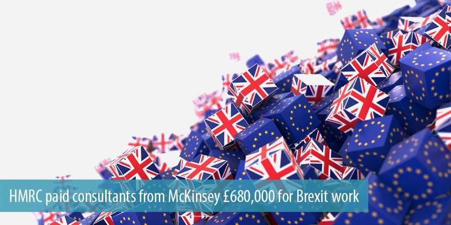 HMRC paid consultants from McKinsey £680,000 for Brexit work