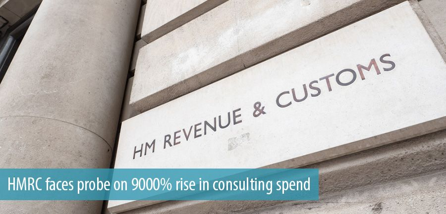 HMRC faces probe on 9000% rise in consulting spend