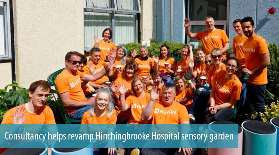 Consultancy helps revamp Hinchingbrooke Hospital sensory garden