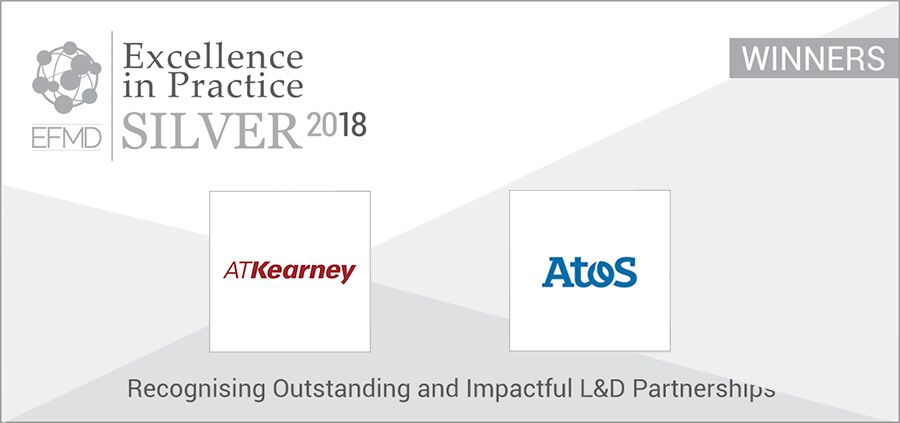 A.T. Kearney and Atos win executive development awards