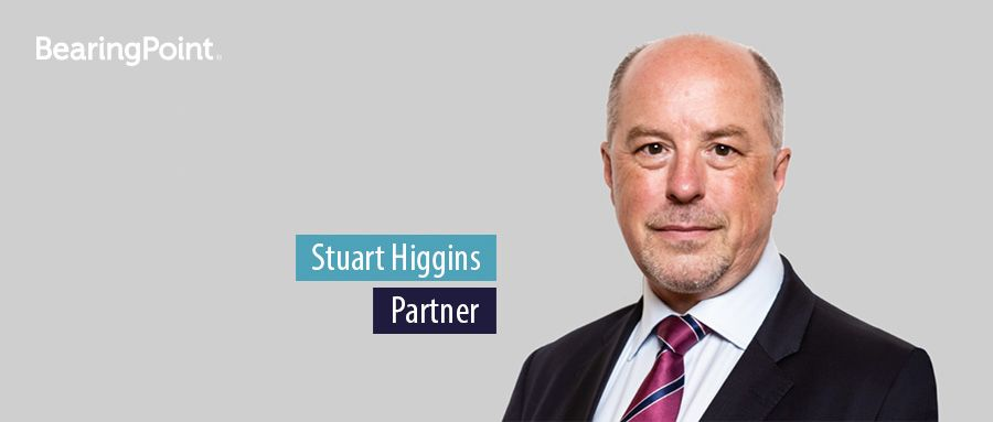 Stuart Higgins - Parter, BearingPoint UK