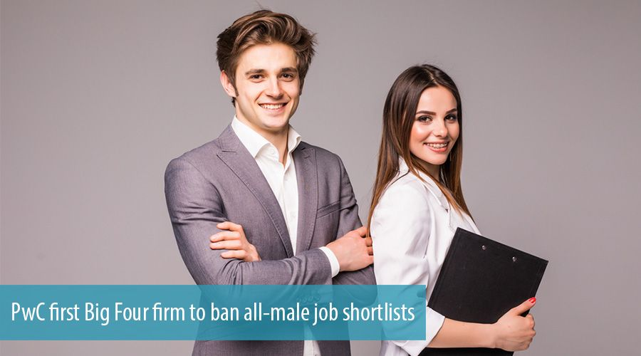 PwC first Big Four firm to ban all-male job shortlists