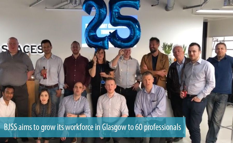 BJSS aims to grow its workforce in Glasgow to 60 professionals