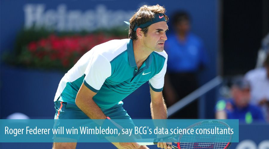 Roger Federer will win Wimbledon, say BCG's data science consultants