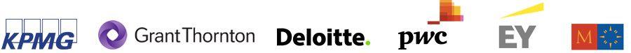 KPMG, Grant Thornton, Deloitte, PwC, EY, Mazars
