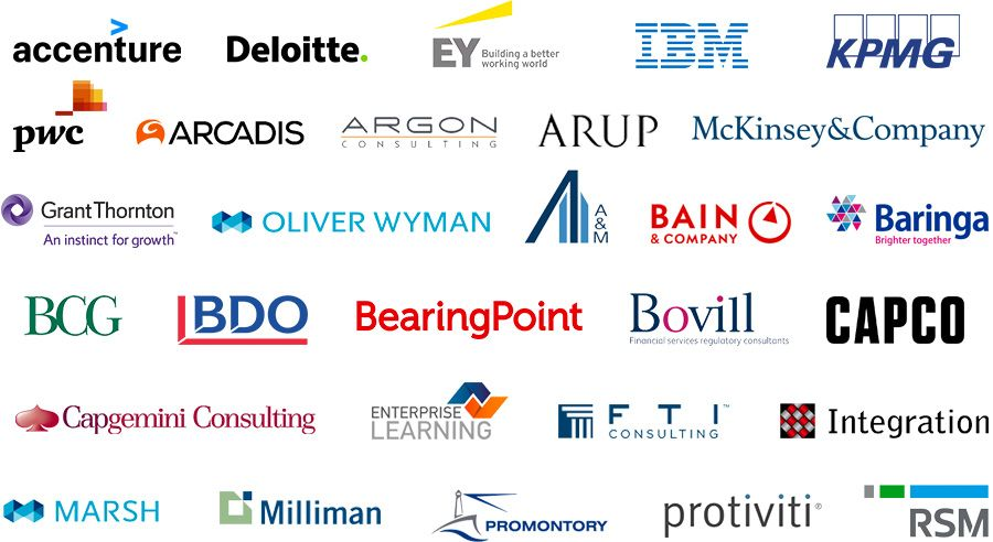 The top UK consulting firms for finance, risk & compliance