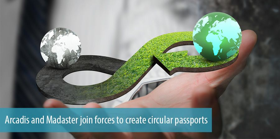 Arcadis and Madaster join forces to create circular passports