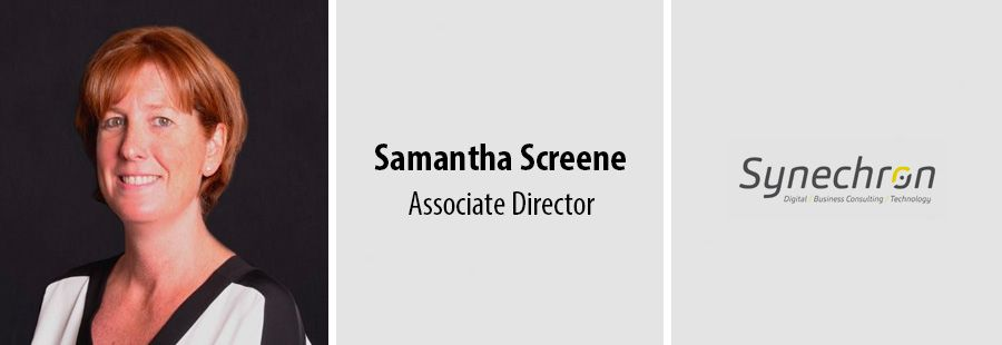 Samantha Screene joins Synechron's HR team in London