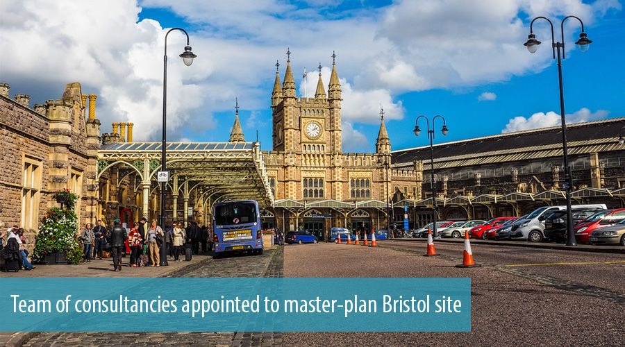 Team of consultancies appointed to master-plan Bristol site