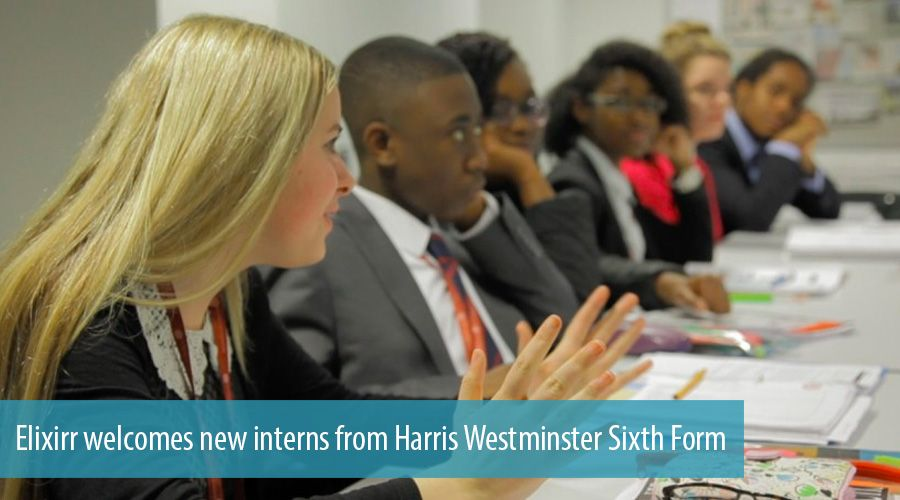 Elixirr welcomes new interns from Harris Westminster Sixth Form