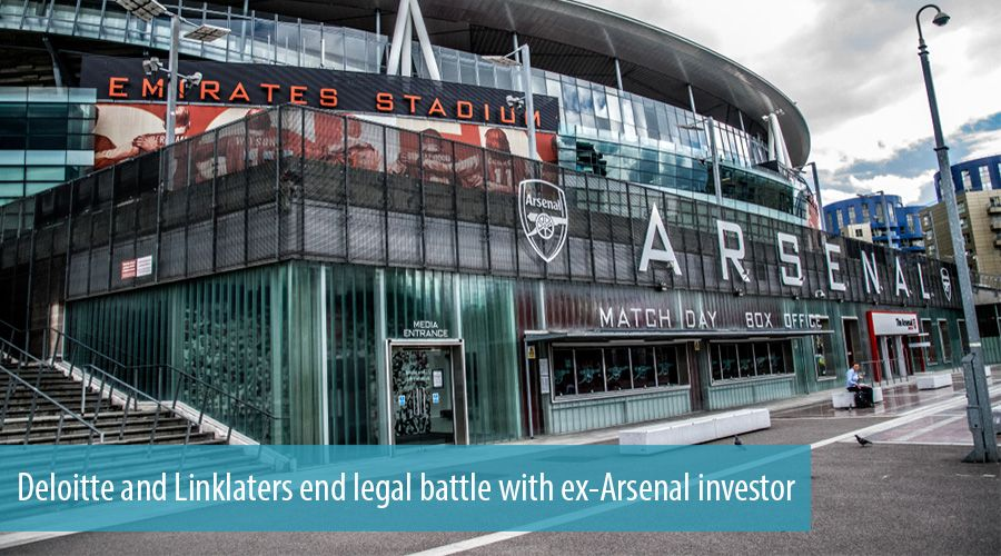 Deloitte and Linklaters end legal battle with ex-Arsenal investor