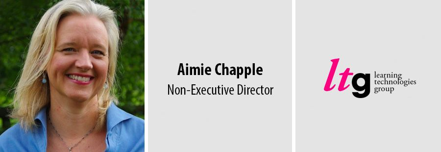 Accenture expert Aimie Chapple joins Learning Technologies Group board