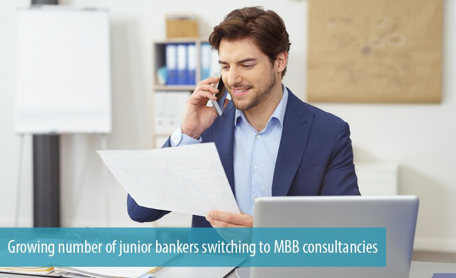 Growing number of junior bankers switching to MBB consultancies