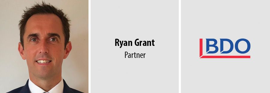 BDO appoints Ryan Grant as new Partner