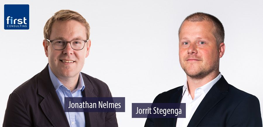 Jonathan Nelmes and Jorrit Stegenga - First Consulting