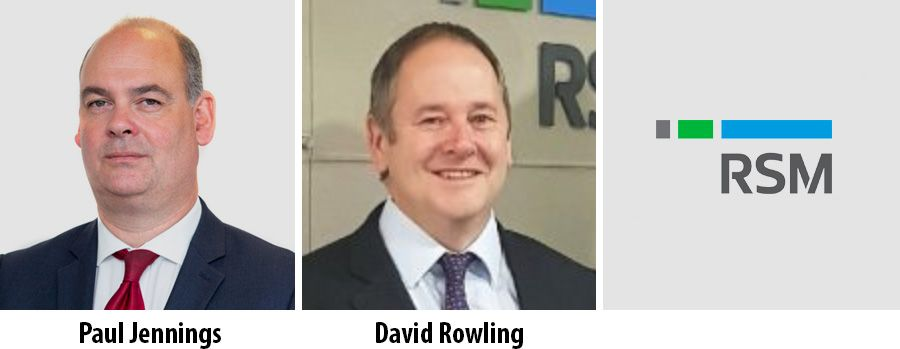 RSM appoints Partners in London and Birmingham offices