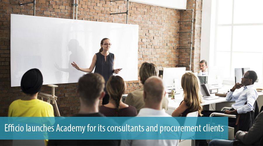 Efficio launches Academy for its consultants and procurement clients