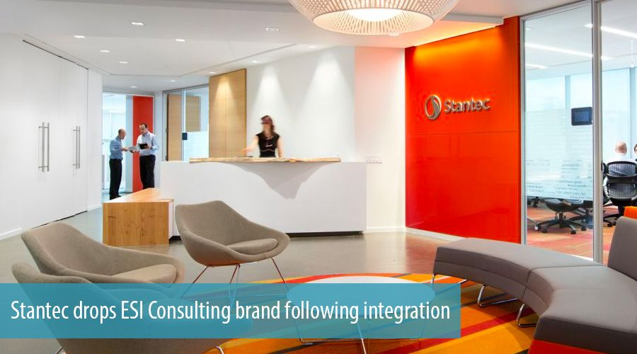Stantec drops ESI Consulting brand following integration