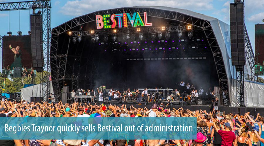 Begbies Traynor quickly sells Bestival out of administration