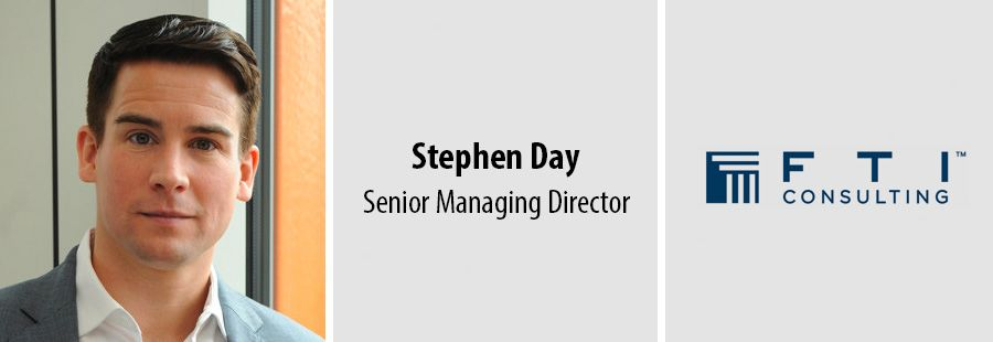 Stephen Day Joins FTI Consulting as Senior Managing Director