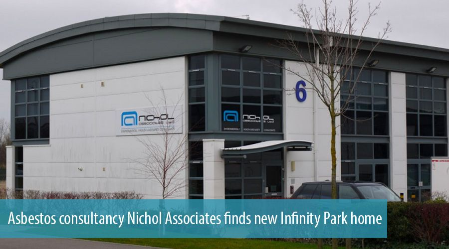 Asbestos consultancy Nichol Associates finds new Infinity Park home