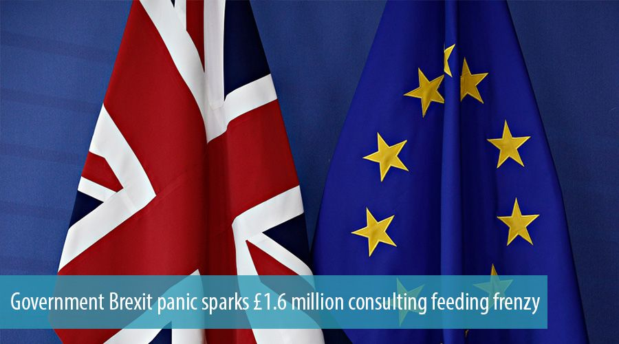 Government Brexit panic sparks £1.6 million consulting feeding frenzy