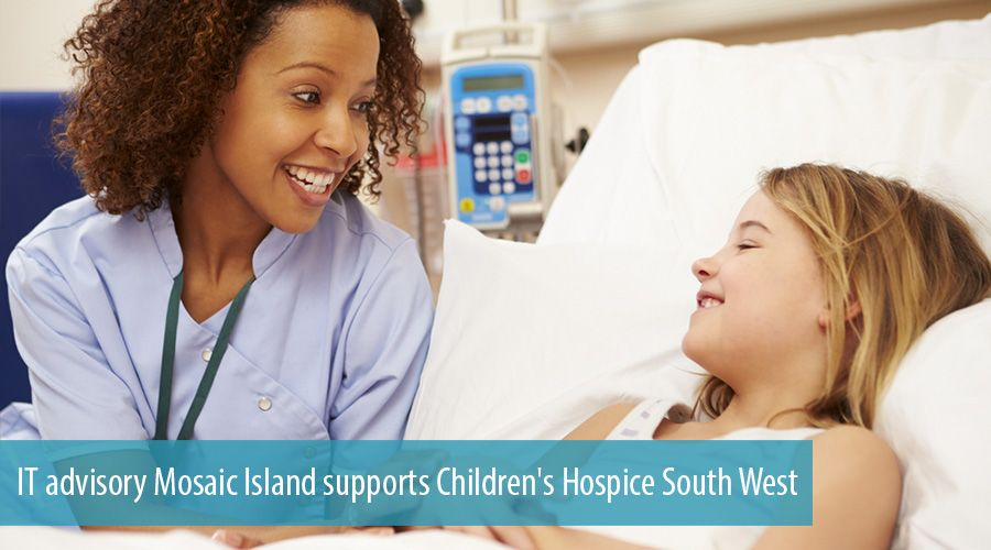 IT advisory Mosaic Island supports Children's Hospice South West
