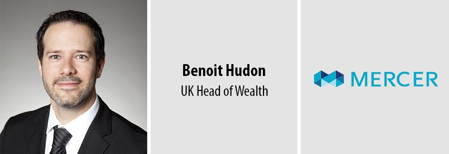 Benoit Hudon appointed UK Head of Wealth at Mercer